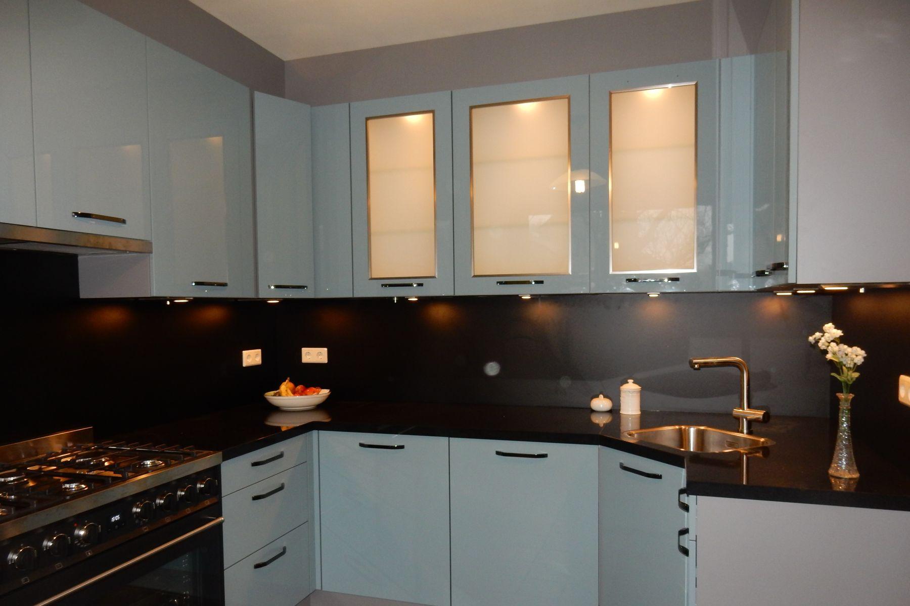 Keuken Achterwand Foto : Glazen achterwand keuken glazen wand op maat laten maken