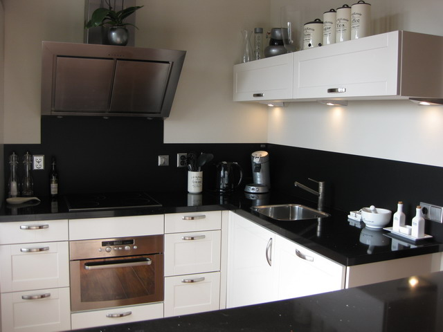 Achterwand Keuken Geen Tegels : Achterwanden in beeld: