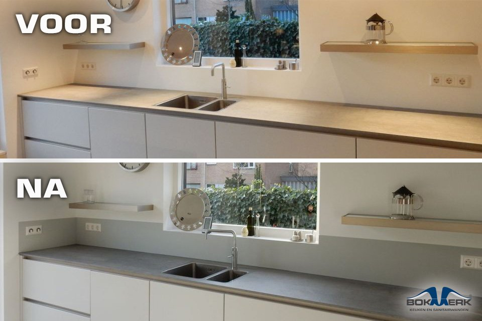 Keuken Achterwand Ideeen Met Voor En Na Foto S